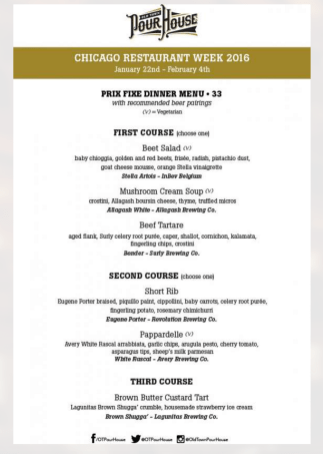 chicago restaurant menu 2