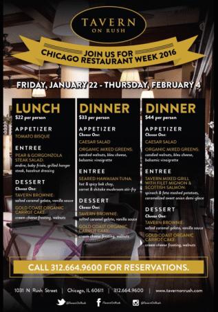 chicago restaurant menu 3