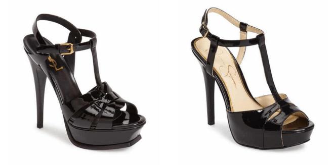 Save on black heels