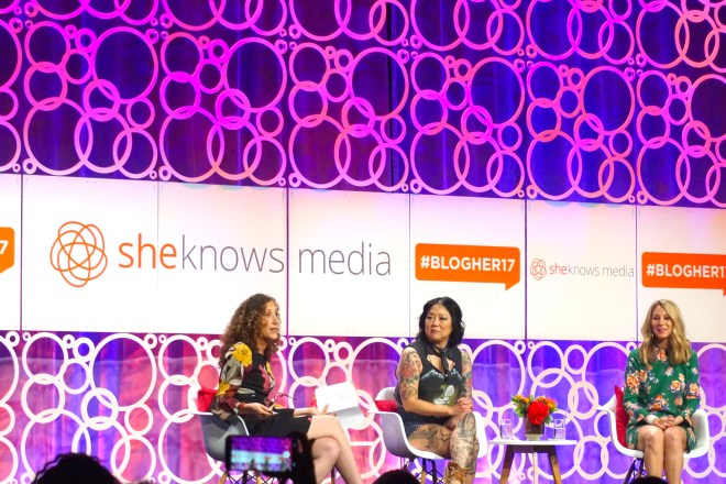 blogher 17 day one ..