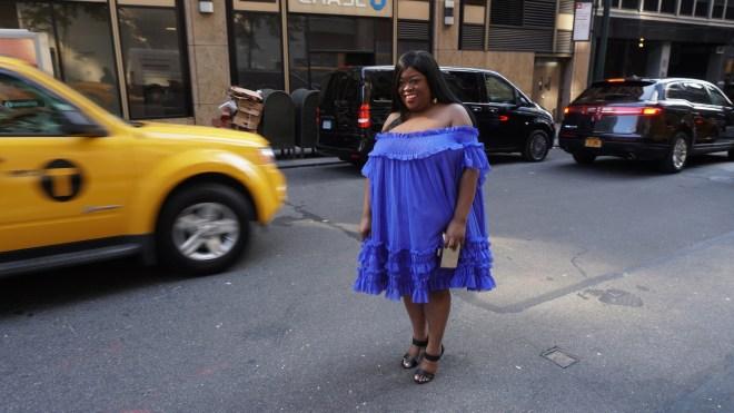 Asos -Blue dress ....