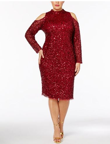 red sequin