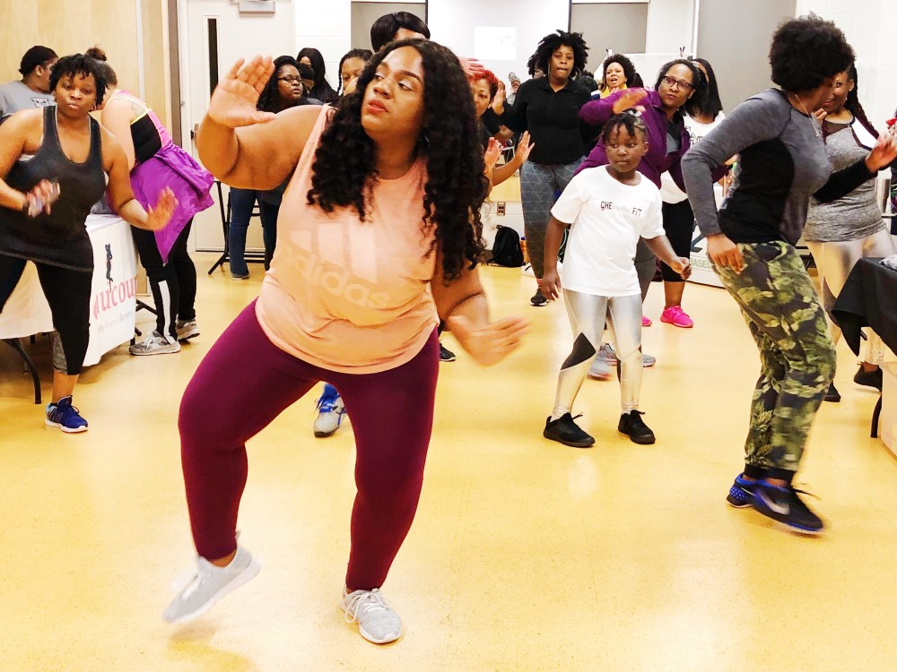 ZUMBA,PLUS SIZE WORK OUT, chasi jernigan, plus size fitness, plus size blogger, plus size workout gear