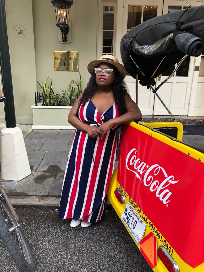 coca-cola, New Orleans' street car, brittphotosmith.com, Red, white and blue dress, French Quarters, New Orleans