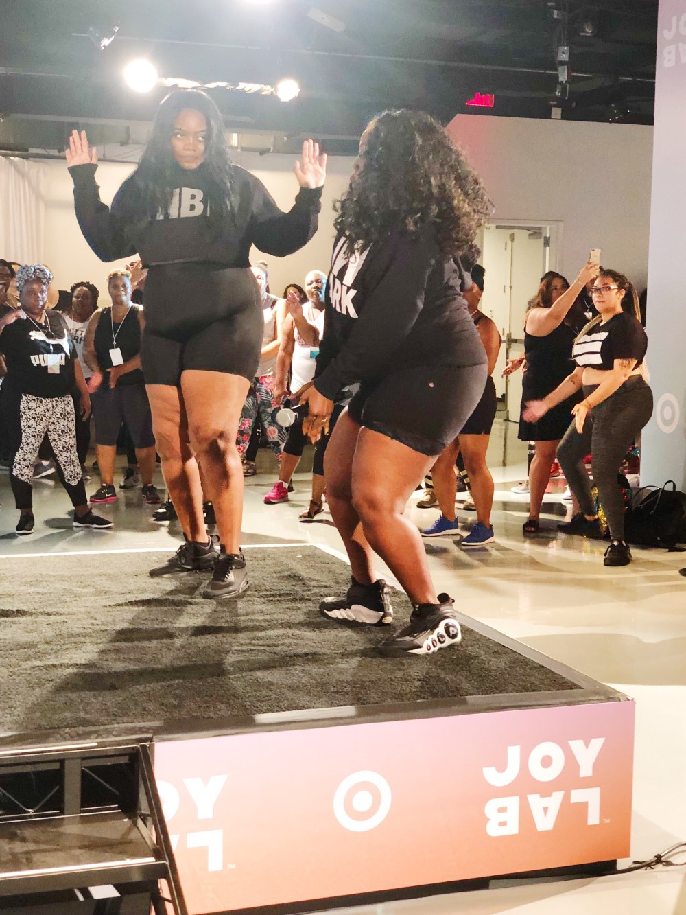 theCurvycon Fitness Session Presented by Target, beyonce plus size dancer, thecurvycon, plus size fitness
