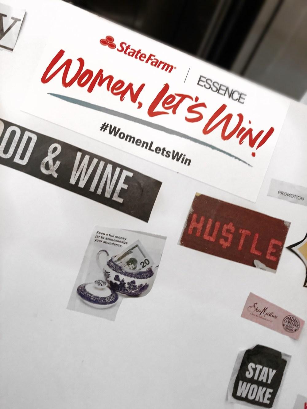 STATE FARM & ESSENCE #WOMENLETSWIN EVENT CHICAGO, State Farm, Essence, #womenletswin, womenletswin, chicago event, chicago, Chicagoblogger, Chicago media