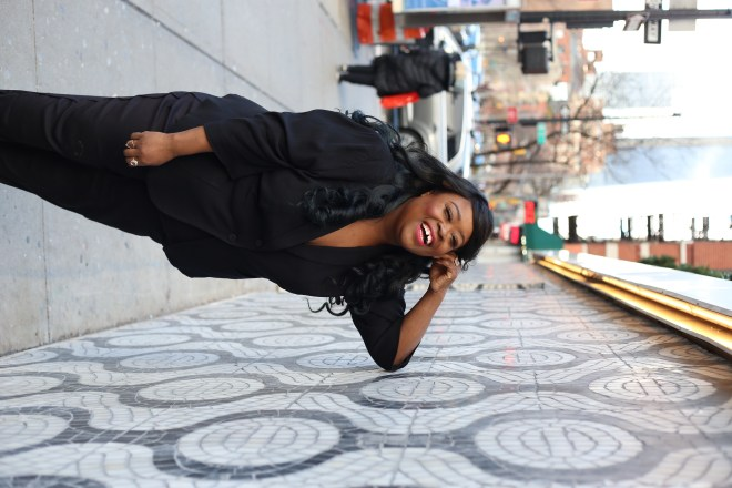 plus size fashion, feminine pantsuit, Universal Standard, plus size street fashion, Chicago blogger, Plus Size Feminine Pantsuit, New York Blogger, plus size blogger, fashion blogger, Gabi Fresh, Essie Golden, I am beauti curve, gorgeous in grey, hayet rida, i am fab ellis, garner style, lisa a la mode, jackie aina, And I Get Dressed, itsmekellieb, blogger of color, black beauty blogger, cece olisa, thecurvycon, gavyn taylor, brown beauty blogger, the fat girl of fashion, thefatgirloffashion.com, LaToya Wright, @thefatgirloffashion, @fatgirl_fashion,  simply curvee, Natalie in the city, totally tot