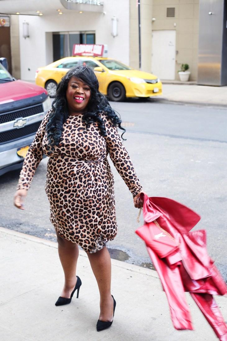 Plus-size fashion blogger, Chicago Blogger