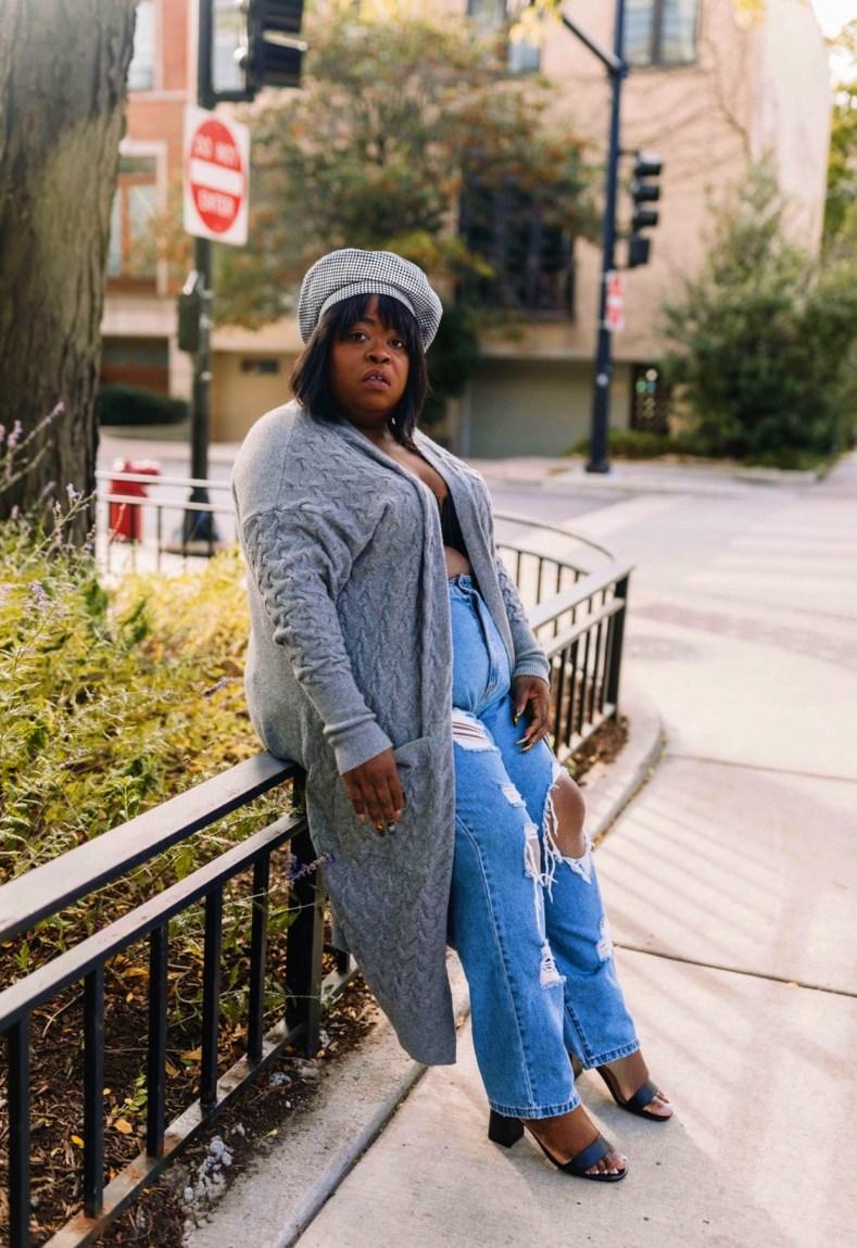 chicago blogger, plus size blogger, plus fashion, fat shamed