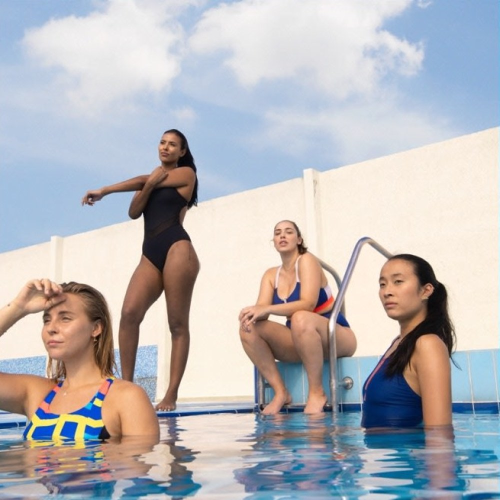 "Adidas UK ""My Body My Swim"", plus size fashion"