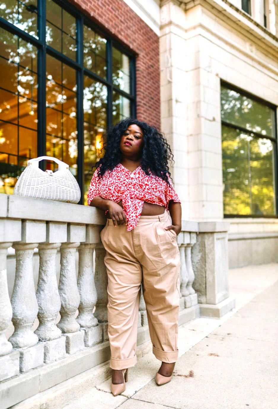 Blogging for 30 days saved me, plus size fashion