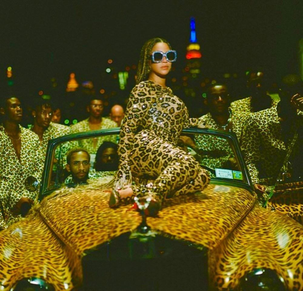 #BLACKISKING is but make it plus - leopard jumpsuit
