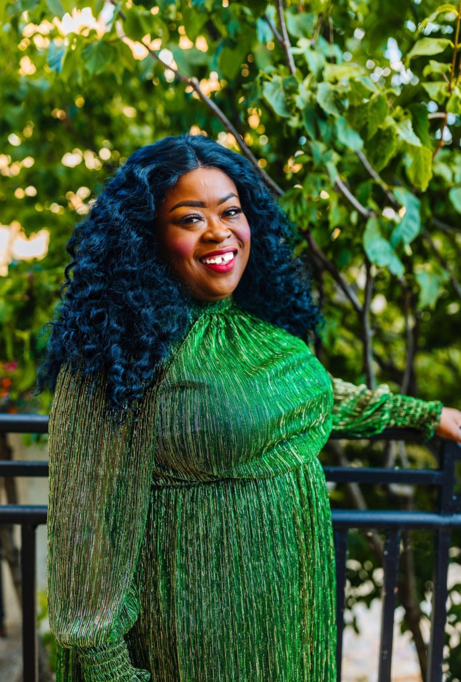 Well Spotted In Eloquii, plus-size fashion blogger