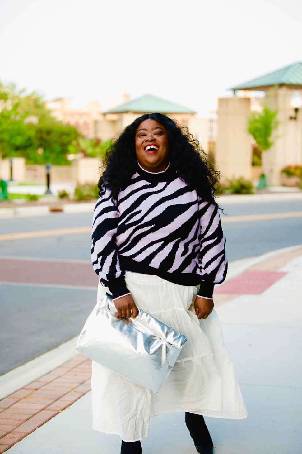 Plus-Size Fall Style: Sweaters and Tiered Dresses, thefatgirloffashion