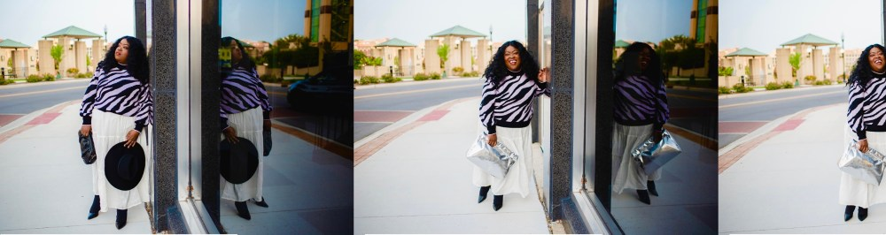 Plus-Size Fall Style: Sweaters and Tiered Dresses, plus-size fashion