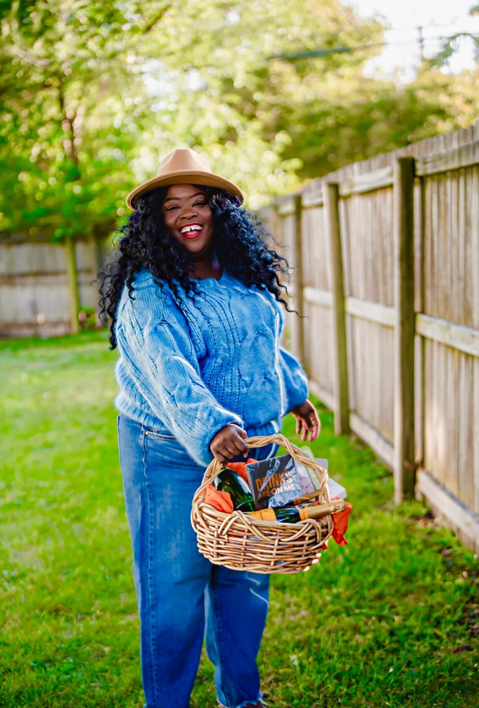 Veuve Clicquot Picnic basket, thefatgirloffashion.com