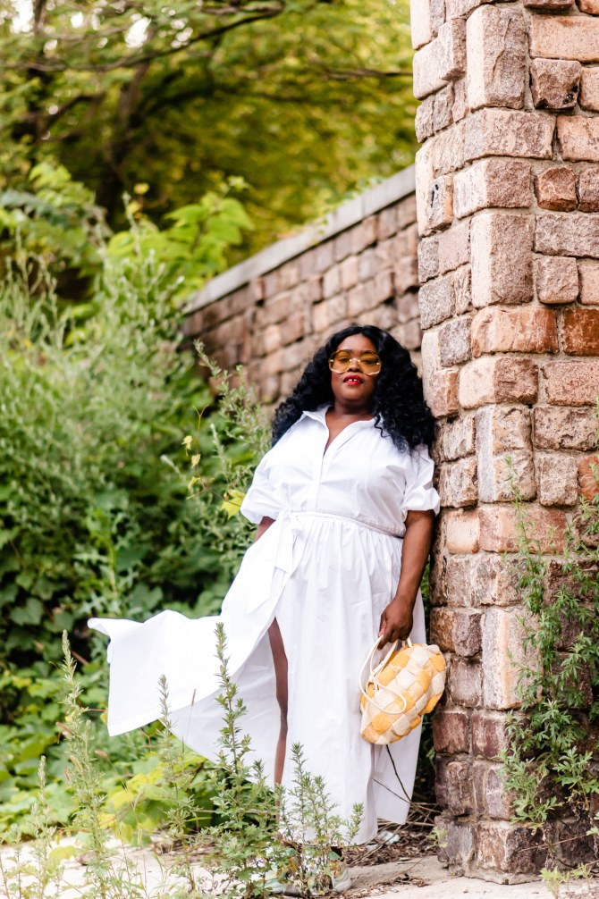 8 must-haves Eloquii all-white dresses