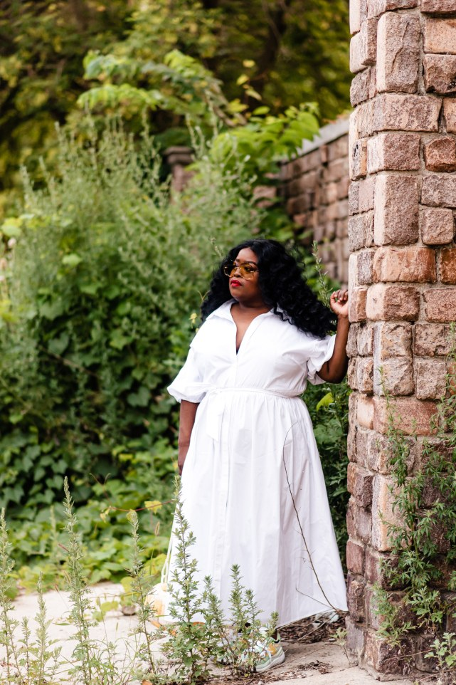 8 must-haves Eloquii all-white dresses, Eloquii plus-size dress