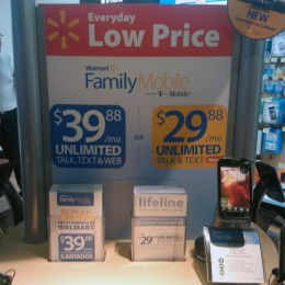 Affordable unlimited plans at Walmart