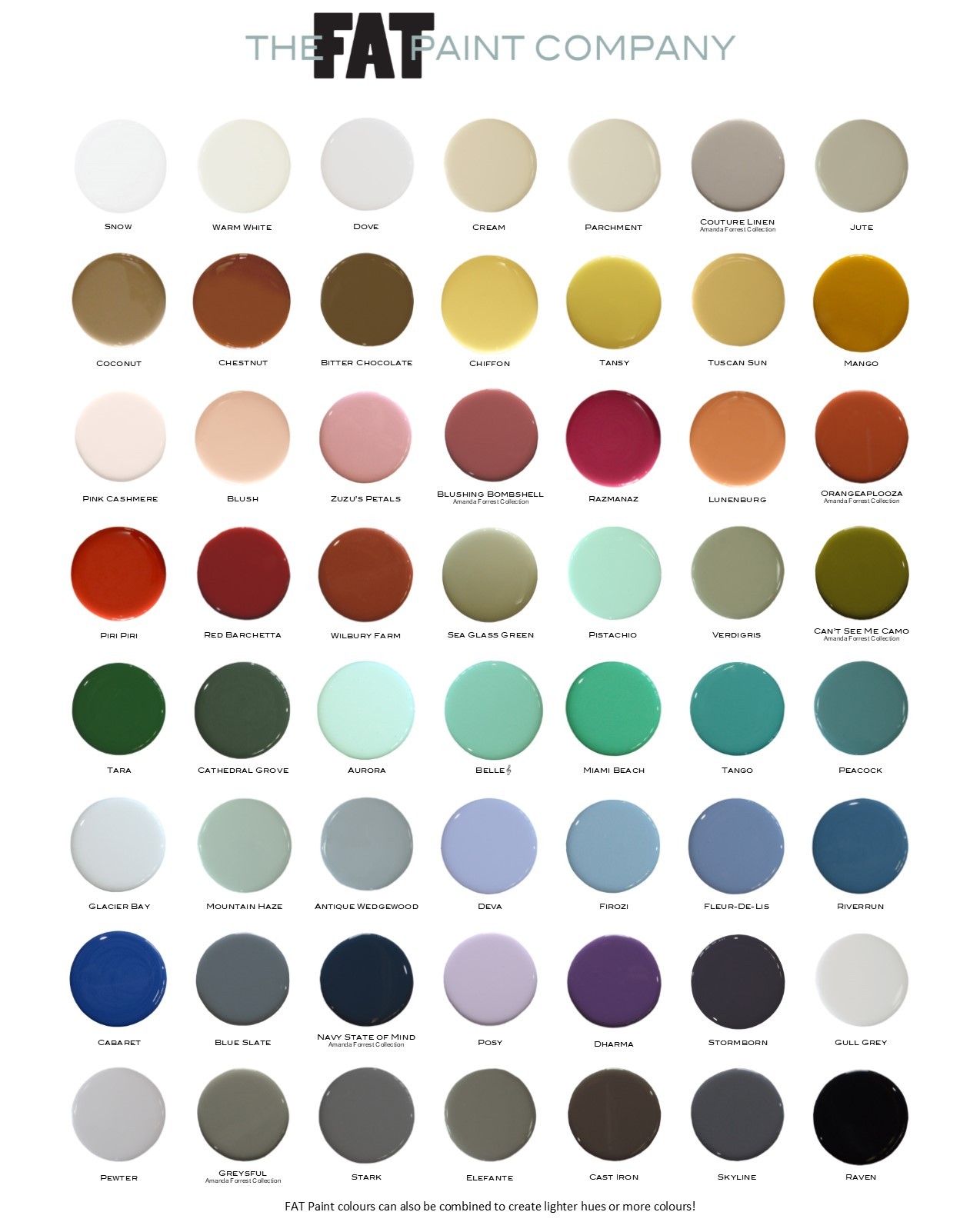 hight resolution of that s why it s vital that the fat palette is current and relevant to today s colour trends