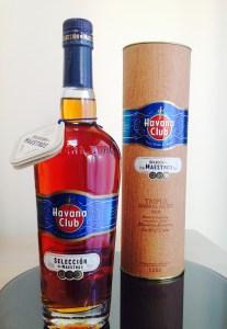 Havana Club Seleccion de Maestros rum review by the fat rum pirate