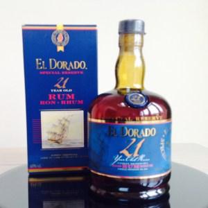EL Dorado 21 Year Old Demerara Rum review by the fat rum pirate