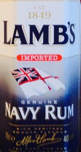 Lamb's Navy Rum review by the fat rum pirate