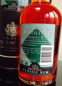 1998 Diamond Distillery Demerara rum review by the fat rum pirate Bristol