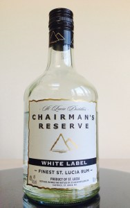 Chairman's Reserve White Label Rum review by the fat rum pirate