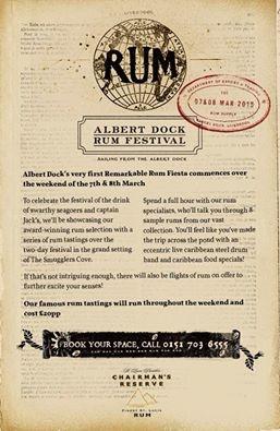 Liverpool Rum Festival Albert Dock