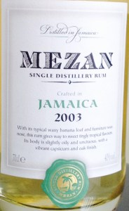 Mezan Jamaica 2003 Monymusk rum review by the fat rum pirate