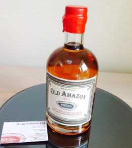 Old Amazon No1 Tonka Bean Infused Rum Review by the fat rum pirate