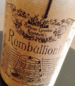 Rumbullion! Review by the fat rum pirate