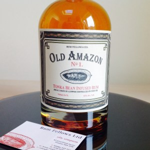 Old Amazon No1. Tonka Bean Infused Rum Review by the fat rum pirate