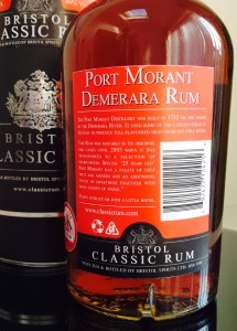 Port Morant 25 rum review by the fat rum pirate