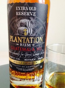 Plantation Guatemala XO Gerry's Rum Review by the fat rum pirate