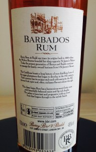 Berrys Barbados Rum Review by the fat rum pirate
