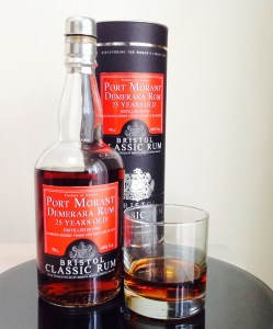 Port Morant 25 year old Rum review by the fat rum pirate