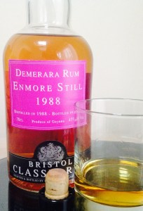 Bristol Classic Rum Enmore Still 1988 rum review by the fat rum pirate