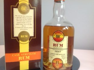 Cadenhead's Jamaica Worthy Park JMWP Rum review by the fat rum pirate