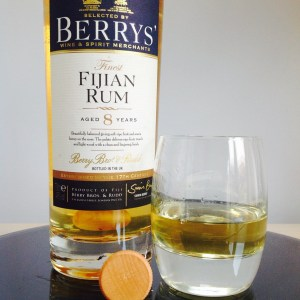 Berrys' Fiji 8 Year Old Rum Review by the fat rum pirate