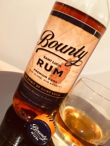 Bounty Saint Lucia Rum Premium Dark Rum Review by the fat rum pirate