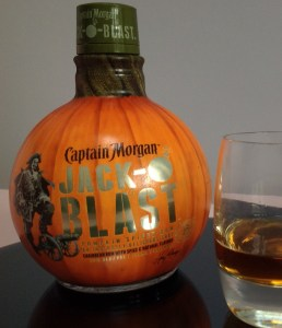 Captain Morgan Jack O Blast Spiced Rum review by the fat rum pirate