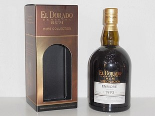 EL DORADO ENMORE RARE COLLECTION rum review by the fat rum pirate