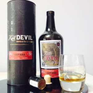 Kill Devil Guyana 12 Year Old Rum Review by the Fat Rum Pirate