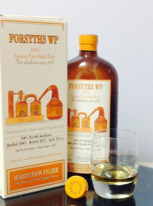 Habitation Velier Forsyths WP 2005 rum review by the fat rum pirate Worthy Park Estate