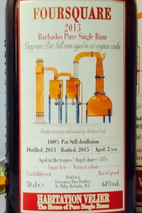 Foursquare 2013 Pure Single rum Habitation Velier Rum review by the fat rum pirat