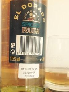 El Dorado Spiced Rum Review by the fat rum pirate