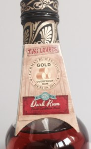 Tiki Lovers Dark Rum Review by the fat rum pirate