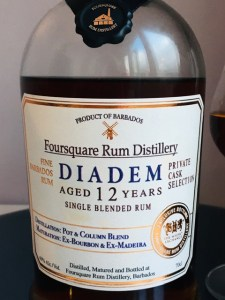 Foursquare Rum Distillery Diadem Rum review by the fat rum pirate